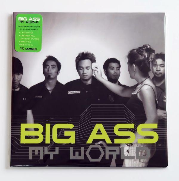 Big Ass - My World (Neon-Green Splatter Black Vinyl)