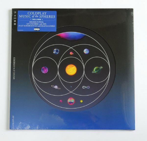 Coldplay - Music Of The Spheres (Recycled Splatter Vinyl)