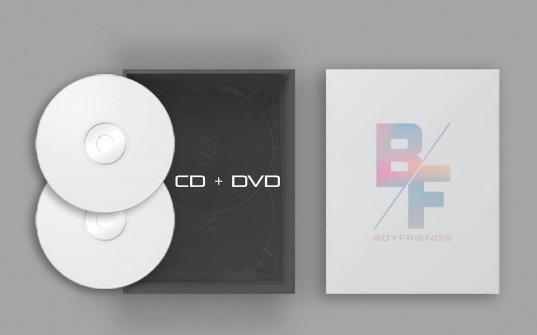 CD+DVD Magic Moment with Boyfriends (Boxset)