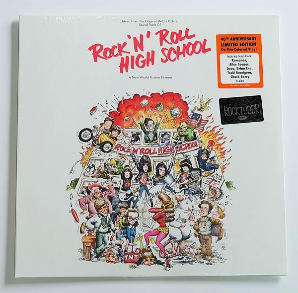 Rock 'N' Roll High School OST. (Fire-Colored Vinyl)