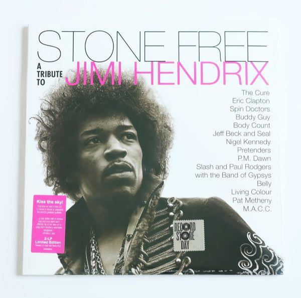 Stone Free - A Tribute To Jimi Hendrix (Clear And Black Vinyl)